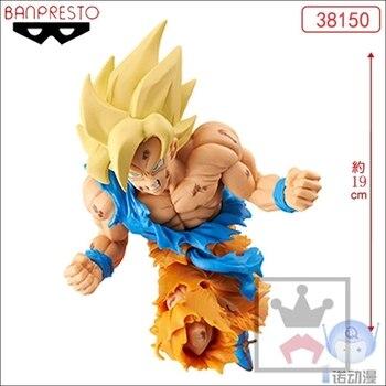 Bandai 38150 Dragon Ball Juvenile JUMP 50th Anniversary Sun Wukong Battle Damage PVC Figure Toys Figurals