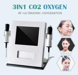 Новейшая версия 3 в 1 co2 кислородная машина для снятия морщин для лица против старения и ухода за кожей лица косметическое оборудование