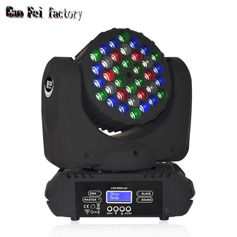 Işıklar ve Aydınlatma'ten Sahne Aydınlatması Efekti'de Dj ışığı hareketli kafa ışın dörtlü dmx sahne ışığı yüksek parlak LED hareketli dj spot işık sahne parti disko bar