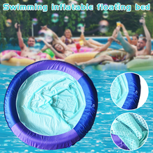 Floating Bed Pool Recliner Swimming-Pool-Floating-Chair Beach-Lake Inflatable