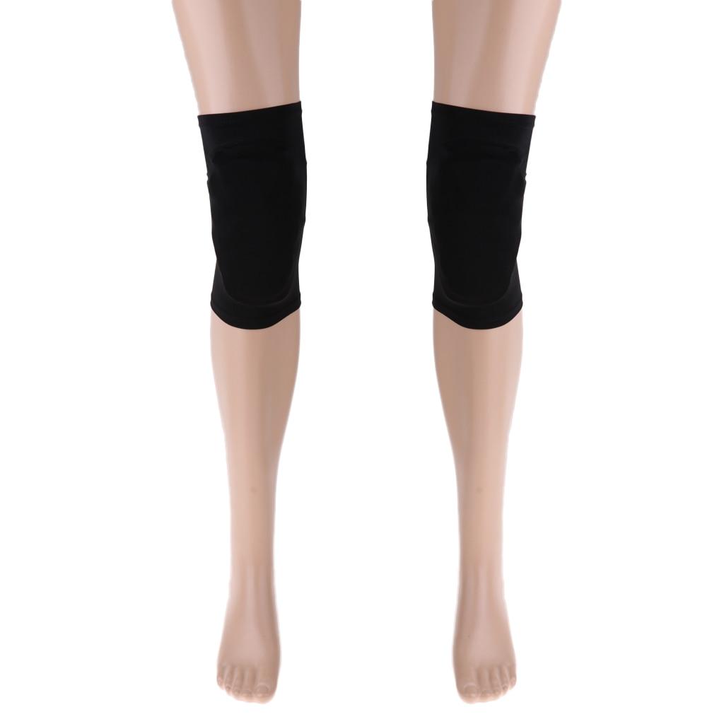 Kids Adult Figure Skating Knee Protector Pad Guard Mat Cover - Warm, Elastic, Durable