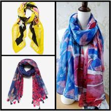 20201-Демисезонный женский модный шарф Desigual с испанскими зубьями и вышивкой, кружевной декоративный шарф с цветами