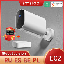 Беспроводная камера IMILAB EC2 для домашней системы безопасности, камера Mihome 1080P HD, наружная Wi-Fi камера IP66, камера видеонаблюдения, камера наблюд...