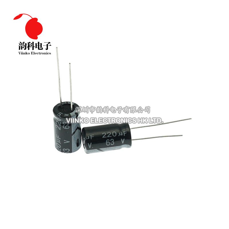 105Deg Radial Electrolítico Baja Impedancia 10uF 50V Pack 10