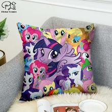My little pony 3d Печатный чехол для подушки декоративная подушка