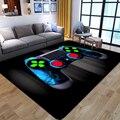 Cartoon Kinder Gamer Bereich Teppiche 3D Spiel Controller Gedruckt Teppiche für Kind Schlafzimmer Spielen Kriechen Anti-Slip Boden Matte kid Spielen Teppich