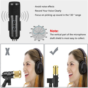 Image 4 - USB Microphone Kit 192KHZ/24BIT Professional Podcast Condenser Mic For Gaming Computer PC YouTube With Adjustable Boom Arm Stand