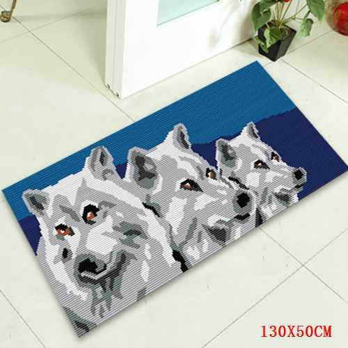 תפס וו כלב סרוג שטיח ערכות כפתור כרית בעלי חיים שטיח זה בעצמך שטיח Foamiran עבור פרחים למכירה סטי רקמה