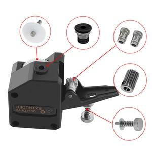 Image 5 - Детали для 3D принтера BMG, экструдер, клон, двойной привод, экструдер, обновленный экструдер Bowden, нить 1,75 мм для 3D принтера CR10