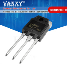 10PCS SGH40N60UFD TO 247 SGH40N60 40N60 G40N60 F40N60UFD TO 3P nuovo transistor MOS FET