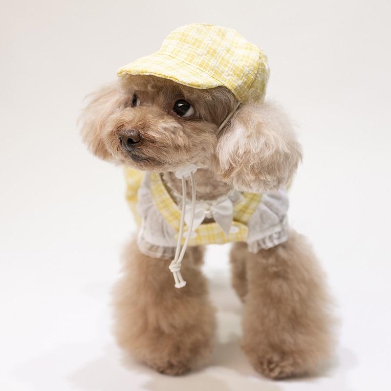 puppy jumpsuit set summer clothes dogs (12)