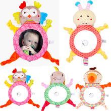 Mirrors Car-Back-Seat Baby Toy Plush Rear Facing Driving-Shatterproof Safety Adjustable