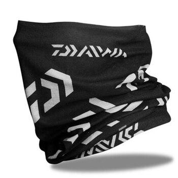 Daiwa-Pañuelo de Pesca de algodón Unisex, pañuelo de ciclismo Anti-UV, Accesorios de...