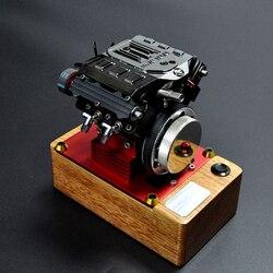 Four-Stroke Methanol Engine FS-V400 Birthday Gift for V4 Tuoyan Engine