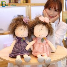 1PC 35/45cm New Cute Cartoon Little Sister Plush Dolls Girl in the Skirt Doll Kids Girls Toys Children Birthday Christmas Gifts