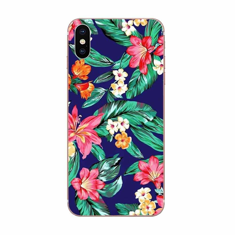 Розовые тропические Цветочные растения для Xiao mi 3 mi 4 mi 4C mi 4i mi 5 mi 5s 5X6 6X8 SE Pro Lite A1 Max mi x 2 Note 3 4