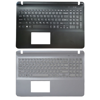 laptop lcd top cover for sony for vaio sve14 sve14a sve14ae13l sve14aj16l sve14a27cx svea100c sve14a16ecb 012 100a 8954 a shell Laptop US keyboard for sony Vaio SVF15217CXB SVF153A1YL SVF1521S2EB SVF1521A6EW SVF1521C5E black/white Palmrest upper Cover
