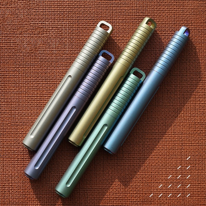 Mini Titanium Pen Portable Portable EDC Gadget Outdoor Equipment Personality Creative Signature Pen