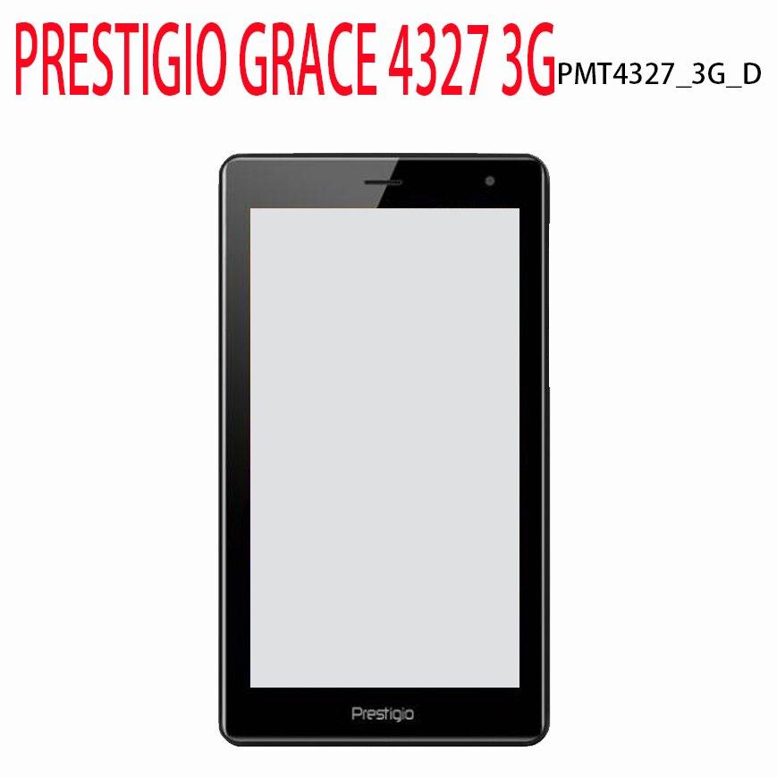 New Phablet Touch Screen For 7'' Inch PRESTIGIO GRACE 4327 3G PMT4327_3G_D PMT4327 Panel Digitizer Glass Sensor