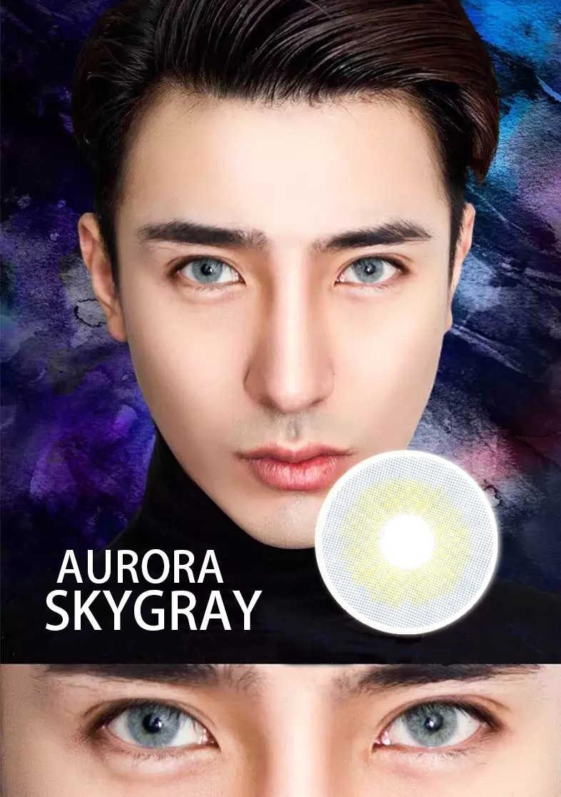 Wielka wyprzedaż Aurora Degree -0 to -800 kolorowe soczewki kontaktowe dostępne piękny uczeń