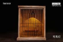 Auf lager Heißer verkauf TWTOYS TW1919 1/12 Gefängnis Szene Zubehör Jailhouse Blockhouse Können Licht Fit Joker Abbildung