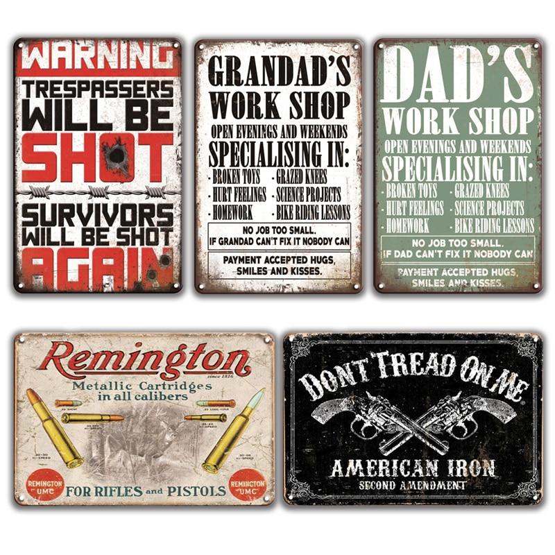 3D Vintage Tin Metal Beer Sign Glenfiddich BBQ Rock Garage Iron Painting  Poster