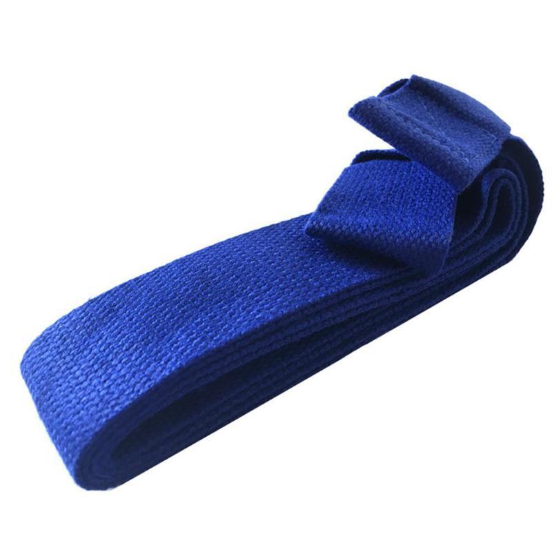 Adjustable Fitness Pilates Yoga Mat Sling Carrier Shoulder Carry Strap Stretch Belt For Women Men Blue Mats Carry Strap Feminina