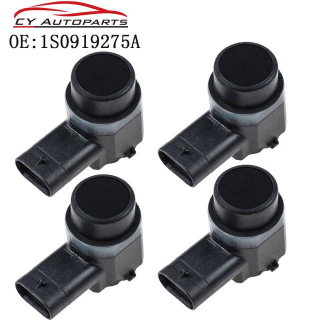 4PCS Parkplatz Sensor PDC Für AUDI A1 A3 A4 A5 A6 Für VW Passat Tiguan Touran Polo Golf, SITZ, SKODA Octavia 1S0919275A
