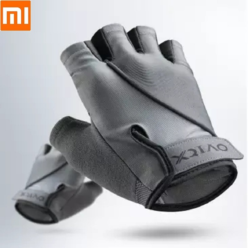 Xiaomi XQIAO Men Woman Fitness Gloves Lightweight Breathable Dry Non-slip Sports Exercise Weight Lifting Fitness Training Gloves