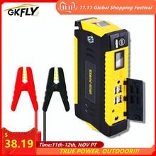 Gkfly Auto Jump Starter Power Bank Draagbare Auto Batterij Booster Oplader 12V Start Apparaat Benzine Diesel Auto Starter Buster