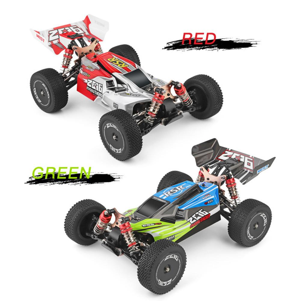 Remote Control Car Body Shell Tail Wing Kit Metal Spare Parts for WLtoys 1:14 RC Vehicle 144001-1335