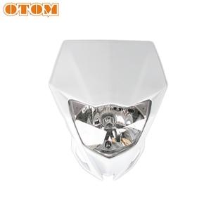 Image 4 - OTOM אופנוע פנס מוטוקרוס פנס קדמי מנורת עבור ימאהה WR450 אנדורו לכלוך אופני תאורה