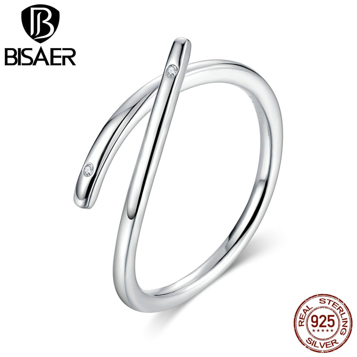 Adjustable Sterling Silver Zircon Cross Ring