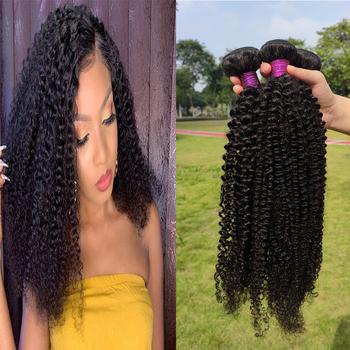 Paruks perwersyjne kręcone włosy indyjskie włosy dziewicze wyplata wiązki 100 nieprzetworzone ludzkie włosy rozszerzenia naturalne czarne włosy wątek tanie i dobre opinie VIRGIN HAIR = 40 CN (pochodzenie) Indyjski włosy Wszystkie kolory NONE Tkactwo Ludzki włos Maszyna wątek dwukrotnie