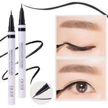 1 Pcs Black Long Lasting Eye Liner Pencil Waterproof Eyeliner Smudge-Proof  Charm Makeup Cosmetics c Beauty Liquid