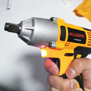 Image 4 - ALLSOME 98VF 320Nm 12000mAh Cordless Electric Impact Wrench Drill Screwdriver 110 240V