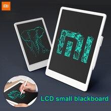 Xiaomi mijia 10/13.5 polegada crianças lcd, escrita pequena placa preta tablet com caneta digital desenho eletrônico imagine almofada