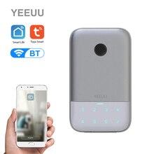 Lock-Box Smart-Key-Storage Fingerprint Password-Key Aluminum-Alloy-Key Tuya Bt-4.2 Network