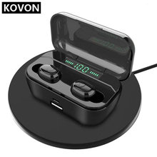 oksj mini bluetooths earphone earbuds wireless bluetooths tws in ear earbuds with charging case v5 0 bluetooth earphones headset G6s Tws 5.0 Wireless Bluetooths Earphone Headset Mini Earbuds Support Wireless Charging LED Display Power Bank Functions