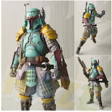 Movie STAR WARS Boba Fett RONIN TAISHO PVC Figure Figurine Toy Model Collection 17cm play arts kai square enix star wars boba fett figma movable playarts pa variant speelgoed action figure model