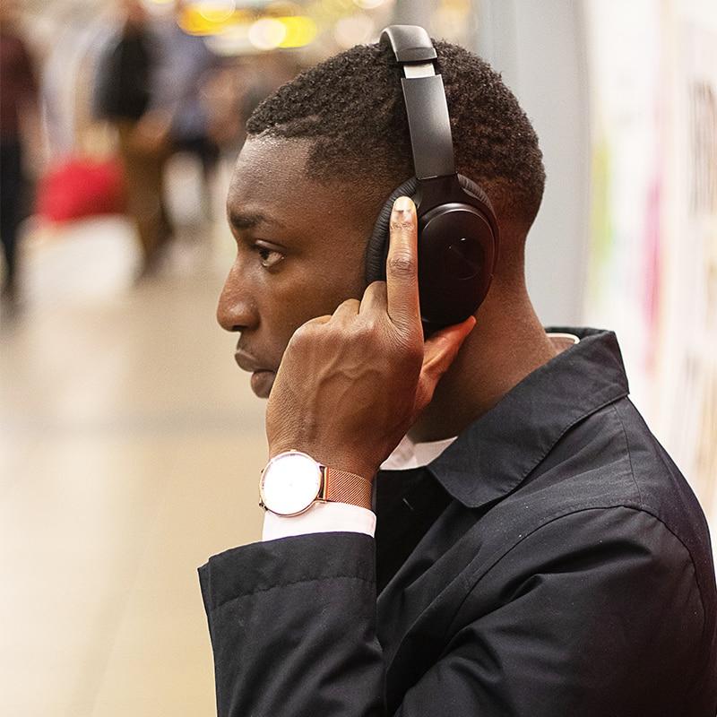 COWIN SE7 ANC APT X Bluetooth casque confortable protéine oreillette voyage actif suppression du bruit sans fil sur les écouteurs d'oreille - 6