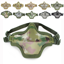 Tactical-Mask Strike Field Paintball Airsoft Metal Steel Military Mesh