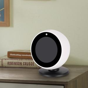 Image 5 - Gosear Fashion 360 Degree Rotation Magnetic Bracket Holder Base Stand Mount Dock for Amazon Echo Spot Smart Speaker Accessories