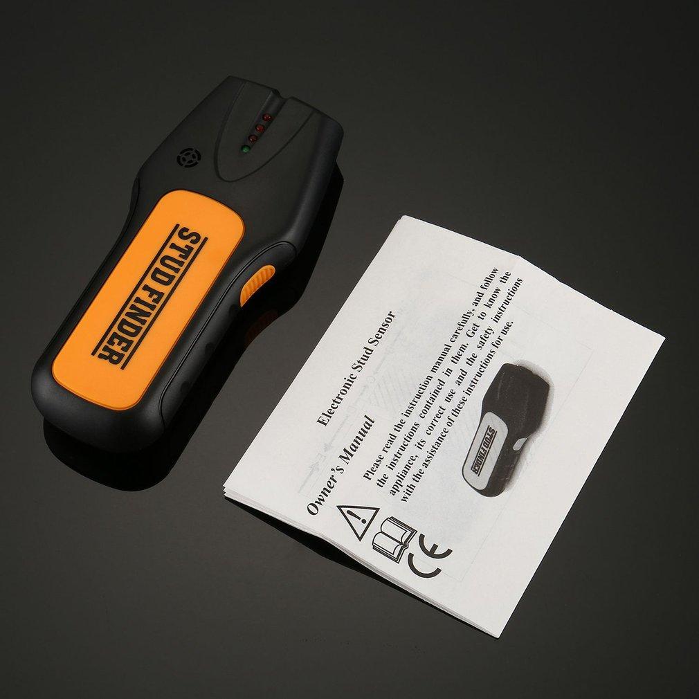 TS78B 3-в-1 Портативный ручной детектор интеллигентая (ый) серьги-гвоздики сканер электронные провода переменного тока Finder древесины детектор