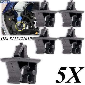 5x samochodów klapa maski Rod klip wsparcie Prop zacisk dla Hyundai Elantra Avante Tucson Sonata Creta zapięcia klipy ustalające 8117421010 tanie i dobre opinie XUKEY CN (pochodzenie) 11 5cm TWORZYWA SZTUCZNE Zapięcia i klipsem 0 02kg 8 5cm 81174-21010 81174-1G000 Iso9001