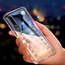 Godgift clear tpu phone case for oppo a5 a7 a5s transparent
