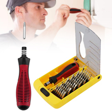 цена на 37 In 1 Precision Screwdriver Set Multi-function Repair Tool Kit for Phone Laptop DAG-ship