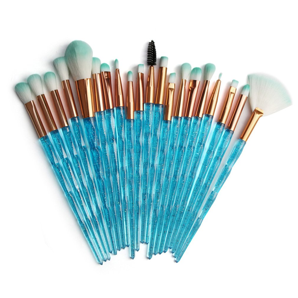 Makeup Brushes Powder Concealers Eye Shadows Makeup Beauty Silk And Soft Tool Makeup Dense Shaped Flash Drill Eye Set Brush