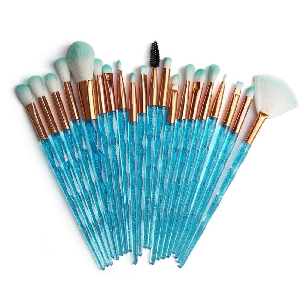 Makeup Brushes Powder Concealers Eye Shadows Makeup Beauty Silk And Soft Tool Makeup Dense Shaped Flash Drill Eye Set Brush