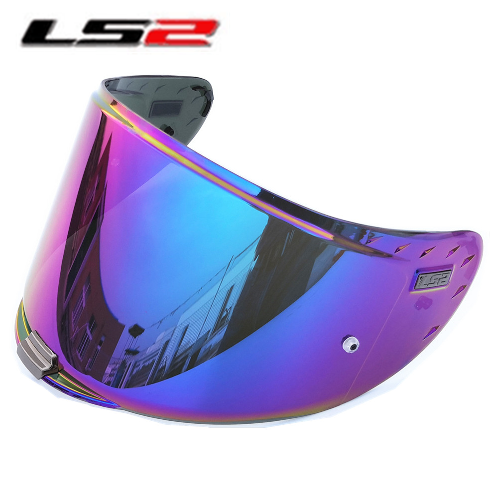 LS2 Challenger Helmet Visor FF327 Full Face Anti-fog Shield Pinlock Pin Ready Clear